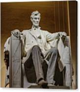 Lincoln Statue Canvas Print