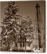 Liston Rear Range Lighthouse De Canvas Print