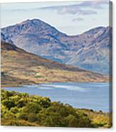 Loch Arklet And The Arrochar Alps Canvas Print
