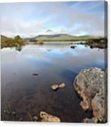 Loch Nah Achlaise Canvas Print