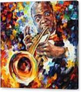 Louis Armstrong . Canvas Print