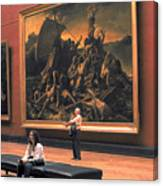 Louvre Museum In Paris Canvas Print