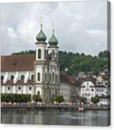 Lucerne Switzerland Canvas Print