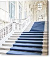 Luxury Interior In Palazzo Madama, Turin, Italy Canvas Print
