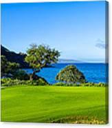 Makena Golf Course In Makena Area Canvas Print