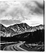 Mammoth Lakes Area Of California Canvas Print