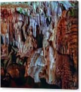 Marble Cave Crimea Canvas Print