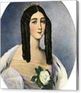 Marie Duplessis Canvas Print