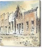 Marysville Ghost Town Montana Canvas Print