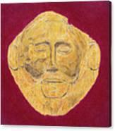 Mask Of Agamemnon Canvas Print