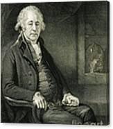 Matthew Boulton, English Manufacturer Canvas Print