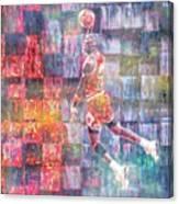 Michael Jordan. Air Jordan. The Canvas Print