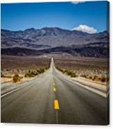 Miles To Anywhere Canvas Print