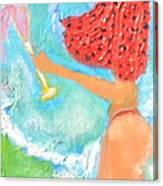 Miss Boobiair Canvas Print