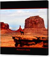 Monument Valley II Canvas Print