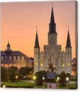 New Orleans St Louis Cathedral Canvas Print