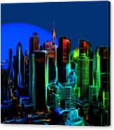 New York Colors Canvas Print