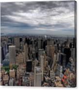 New York New York Canvas Print
