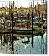 Newport Marina Canvas Print