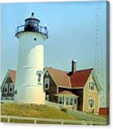 Nobska Point Lighthouse Canvas Print