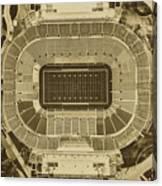 Notre Dame Stadium Canvas Print