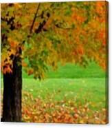 Oil Painting Landscapes Canvas Print