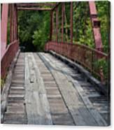 Old Alton Bridge  Canvas Print
