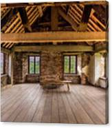 Old House Interior Canvas Print