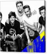 One Direction Collection Canvas Print