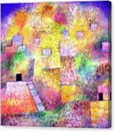 Oriental Pleasure Garden Canvas Print