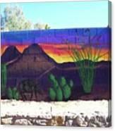 Outside Mural Canvas Print