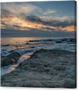 Pacific Grove Sunset Canvas Print