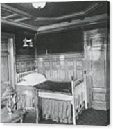 Parlour Suite Of Titanic Ship Canvas Print