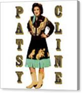 Patsy Cline Canvas Print