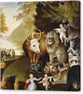 Peaceable Kingdom Canvas Print