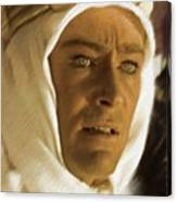 Peter O'toole As Lawrence Of Arabia Canvas Print