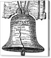 Philadelphia: Liberty Bell Canvas Print