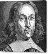 Pierre De Fermat, French Mathematician Canvas Print