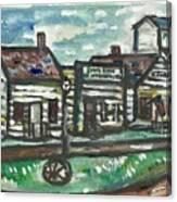 Pioneer Village Canvas Print