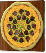 Pizza Canvas Print