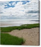 Plymouth, Massachusetts, Beach Canvas Print