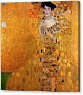 Portrait Of Adele Bloch-bauer Canvas Print