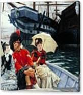 Portsmouth Dockyard Canvas Print