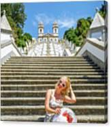 Portugal Woman Tourist Canvas Print