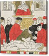 Possibly Johannes De Ketham Canvas Print