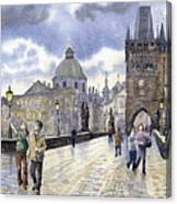 Prague Charles Bridge Canvas Print
