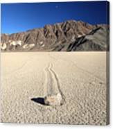 Racetrack In Death Valley National Park Canvas Print