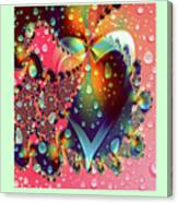 Raining In My Heart Canvas Print