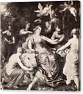 Rape Of Europa Canvas Print