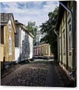 Rauma Old Town Canvas Print